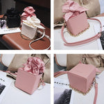 Messenger Bowtie Box Bag