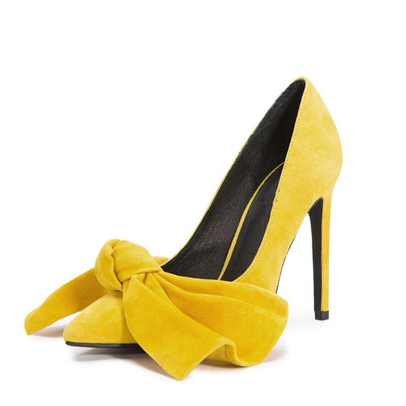Huge Bow-knot Scarpe Shoes