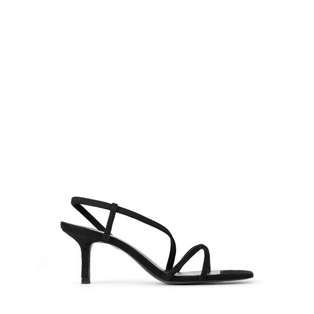 Open Toe Suede Sandals