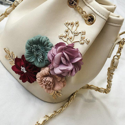 Image of Handmade Bucket-style Crossbody Bag-bags, handbags and totes-BQ Emporium