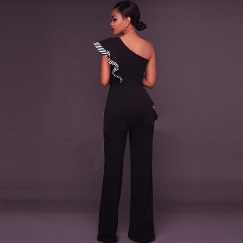 Image of Queen Of Love Off Shoulder One-Piece Party Suit rompers BQ Emporium