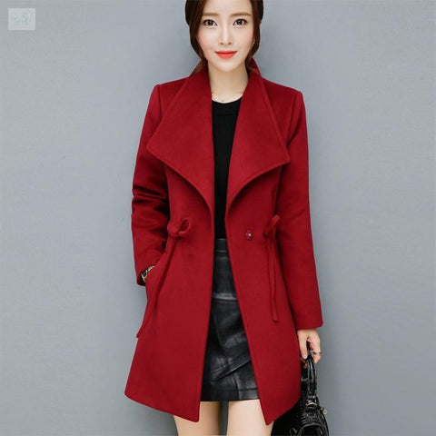 Image of Warm and Casual Mini Coat