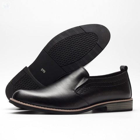Image of Luxury Concise Pointy Business Dress Shoes-Men's Shoes-BQ Emporium