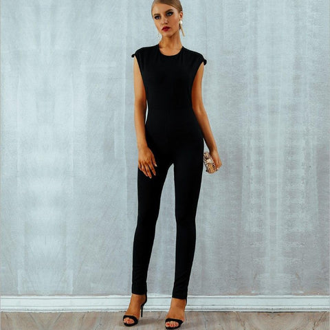 Image of Steal-The-Show Beaded Celebrity Jumpsuit Jumpsuit BQ Emporium