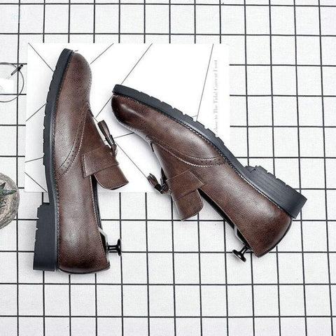 Image of Italian Brogue Tassel Shoes shoes BQ Emporium