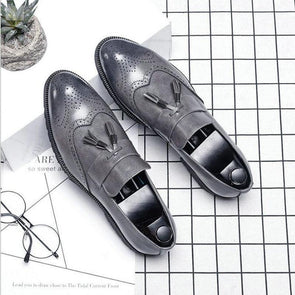 Italian Brogue Tassel Shoes shoes BQ Emporium