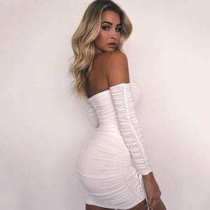 Tess - Boho Mini Dress