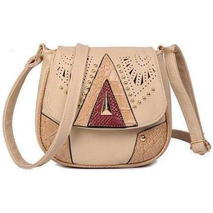 Image of Vintage Hollow-Out Crossbody Bags handbag BQ Emporium beige (20cm<Max Length<30cm)