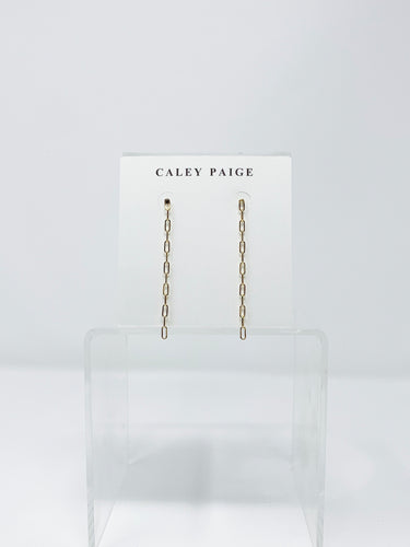 Chain Row Earrings