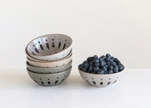 Load image into Gallery viewer, Stoneware Berry Bowl (3 Colors)