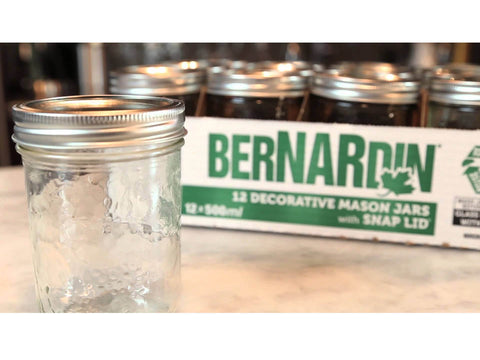 Bernardin Mason Jar Widemouth 500ml w/ 90mm Lid 16956