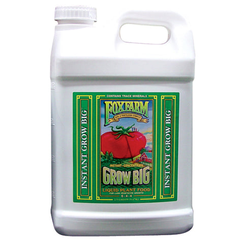 FoxFarm Nutrient / Additive Grow Big 2.5 Gallon Bottle 26950