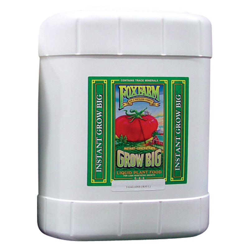 FoxFarm Nutrient / Additive Grow Big 5 Gallon Bottle 26951
