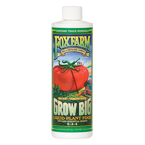 FoxFarm Nutrient / Additive Grow Big 1 Pint Bottle 26947