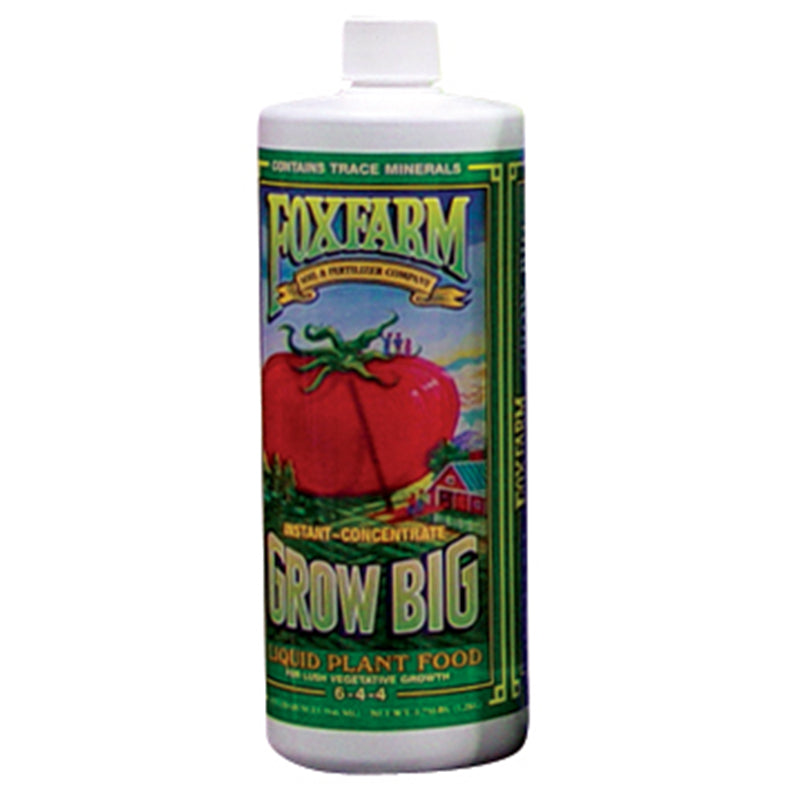 FoxFarm Nutrient / Additive Grow Big 1 Quart Bottle 26948