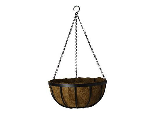 "GardenStar Hanging Basket Deluxe 16"" With Liner 22726"