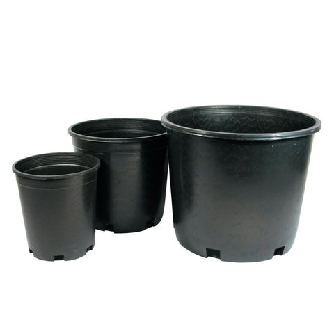 "International Nursery Products INP - Plastic Plant Pot - Round Hard 2 Gallon 9"" x 8.5"" 33140"