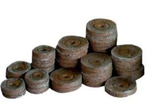 "Jiffy Peat Pellet Grow Medium Expanding Puck 1.25"" Small 11512"