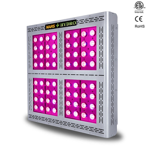 MARS Hydro LED Light Pro II Epistar 320 750W 4x4' Coverage 22768