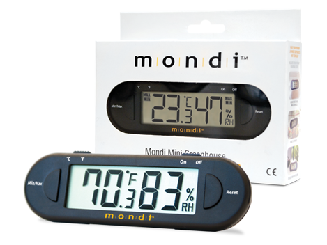 Mondi Mini Thermo-Hygrometer Made For Humidity / Propagation Domes 1318