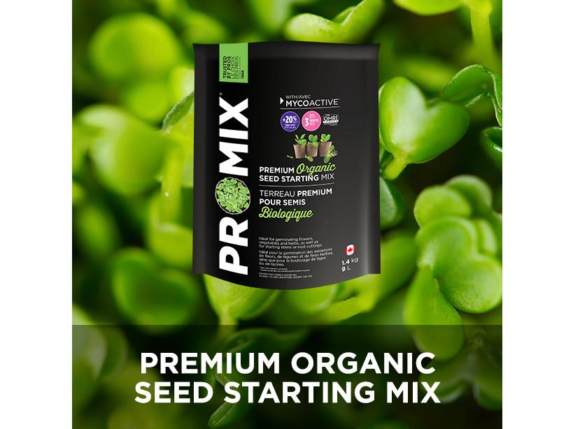 ProMix Growing Medium / Amendment - Soilless Mix - Seed Starter Mix 9L 1087