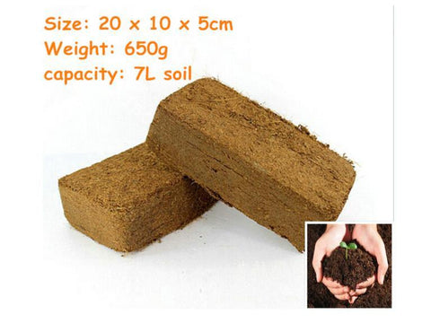 Medium Grotek Coco Compressed Brick 650g