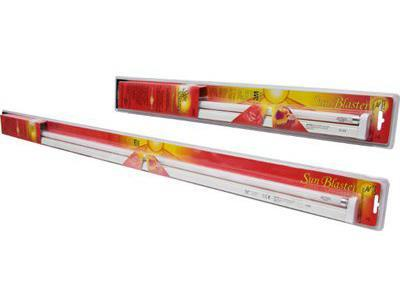 SunBlaster T5 HO Fluorescent Plant Grow Lighting - Fixture 24""