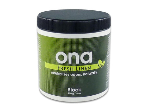 ONA Block 170g / 6oz Fresh Linen