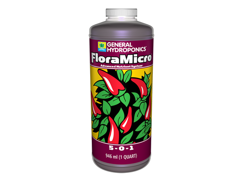 General Hydroponics Nutrient / Additive - Flora Micro 4L