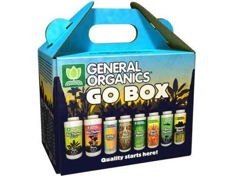 General Hydroponics Nutrient / Additive - General Organics GO-Box Starter Kit!