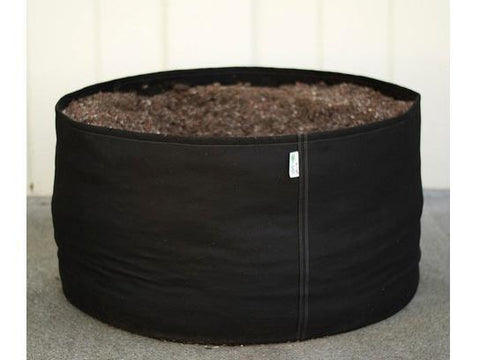 GeoPot Fabric Plant Container Pot - 2 Gallon Black Self-Supporting GeoPot w/ Handles