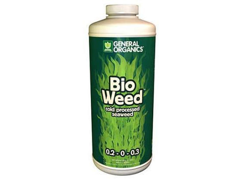 General Hydroponics Nutrient / Additive - General Organics Bio Weed 946ml