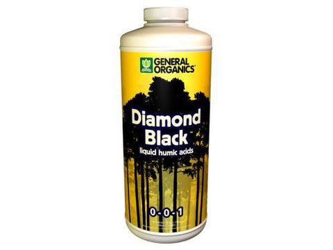 General Hydroponics Nutrient / Additive - General Organics Diamond Black 946ml