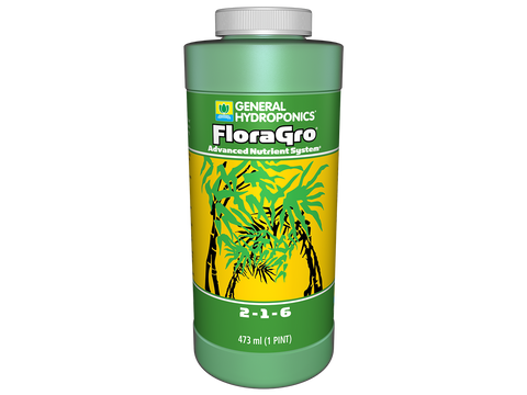General Hydroponics Nutrient / Additive - Flora Gro 0.5L 17601