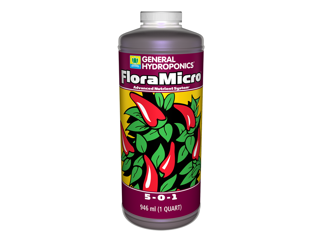 General Hydroponics Nutrient / Additive - Flora Micro 0.5L