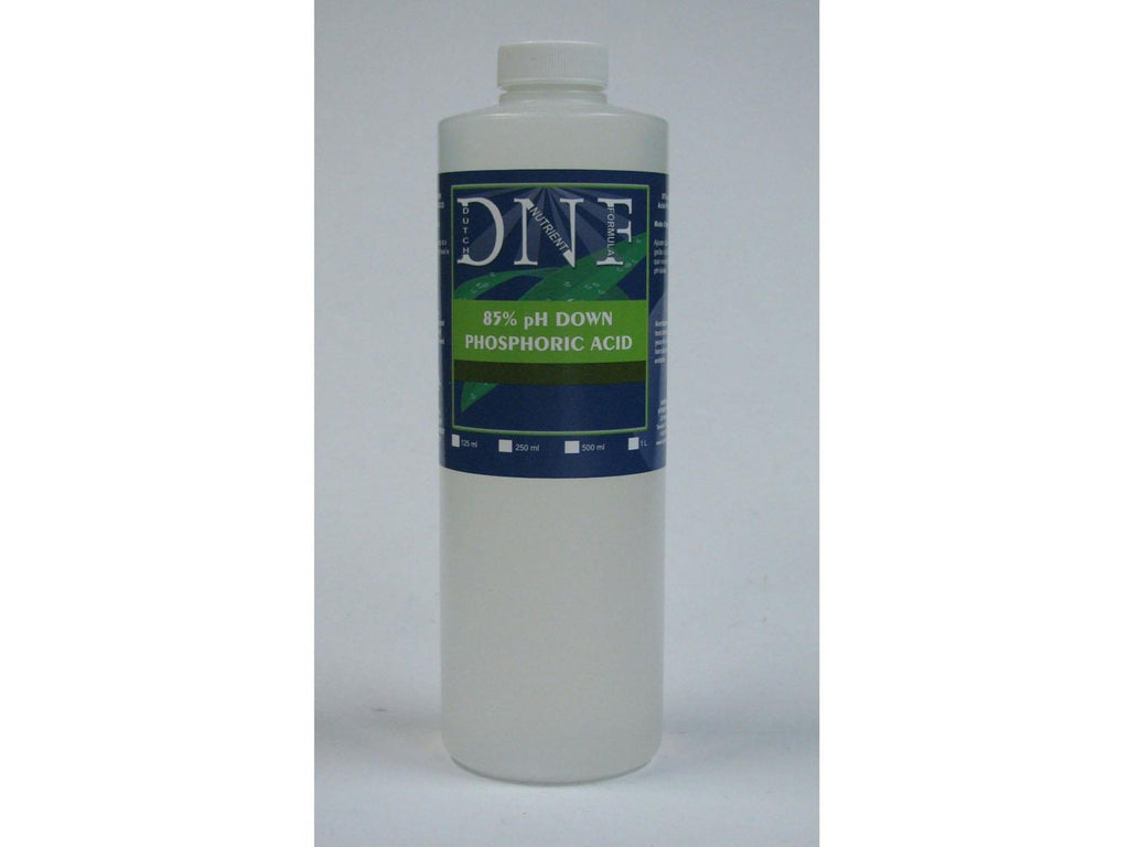DNF (Dutch Nutrient Formula) pH-Down pH- 85% Phosphoric Acid 1L