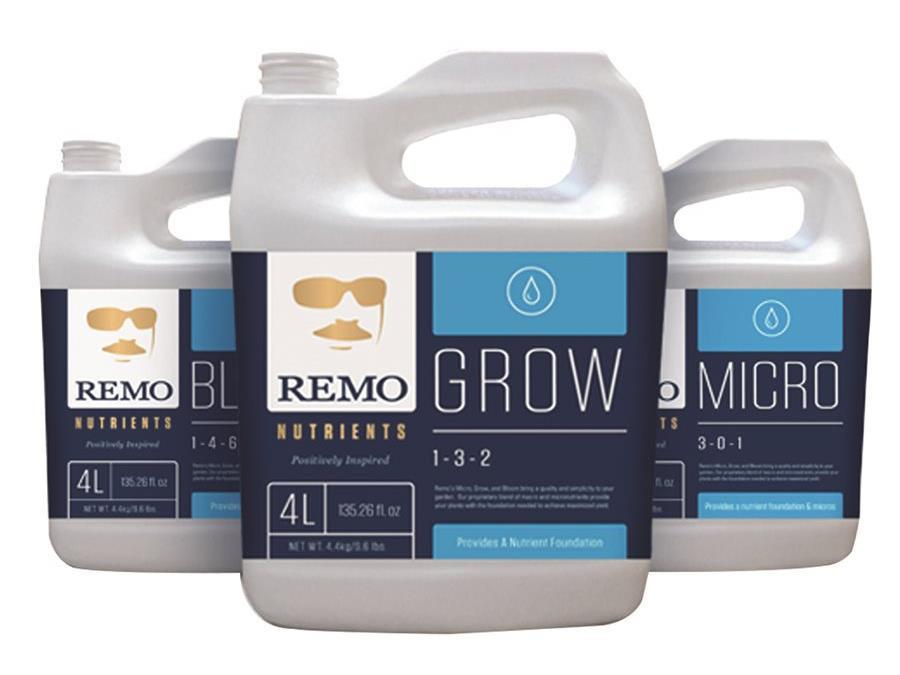 Remo Nutrients & Additives - Remo's Grow  4L
