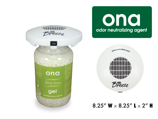 ONA Odor Neutralizing Agent - Breeze Fan for ONA Gel Jars