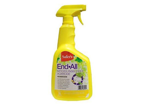 Safer's Pest Control End-All RTU Ready-To-Use Spray Bottle 500ml 25475