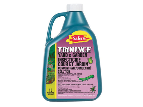 Safer's Trounce Pesticide / Insecticide 1L Concentrate Bottle 6337