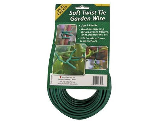 NoName Plant Support Twist Tie Wire Soft 55' Roll 14906
