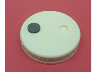 Mushroom Growing Supplies - NoName Spawn Jar Lid w/ Port & Filter 90mm 22681