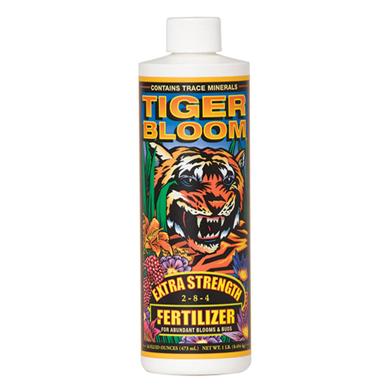 FoxFarm Nutrient / Additive Tiger Bloom 1 Pint Bottle 26956