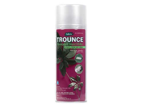 Safer's Insecticide Trounce Houseplant Insect Killer 283g Aero Spray Can 24405