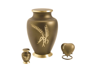 Wheat Urn Complete Set