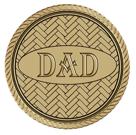 Dad Medallion