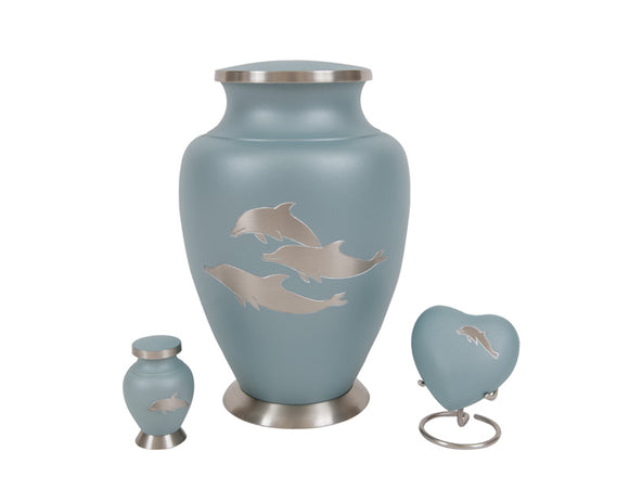 Dolphin Urn Complete Set