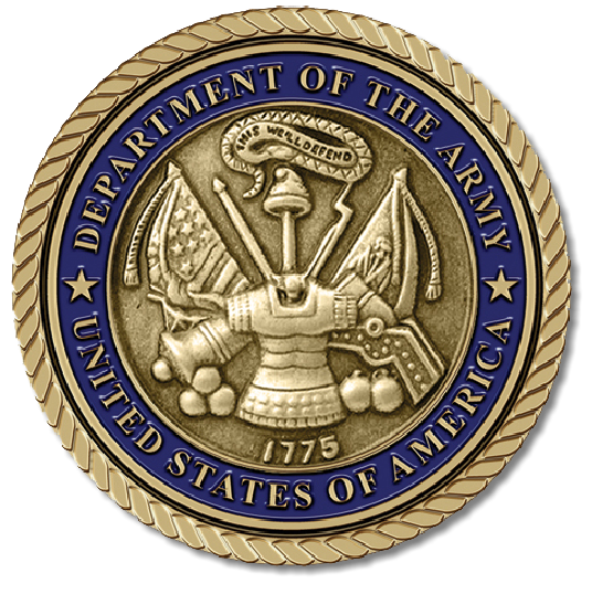 US Army Medallion