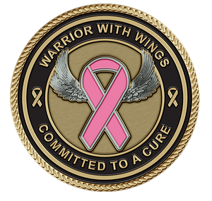 Breast Cancer Medallion