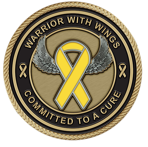 Childhood Cancer Medallion